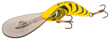 Predatek B65UD Boomeang ultra-deep fishing lure in Yellow Tiger colours