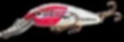 Predatek S85 Spoonbill fishing lure in Redhead (RH) colours