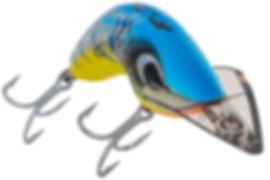 Predatek J80 Jindivik fishing lure in Barra Blue colours