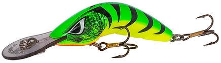 Predatek B65M Boomerang fishing lure in Hot Tiger colours
