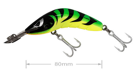 Predatek Jindivik fishing lure in Hot Tiger colours