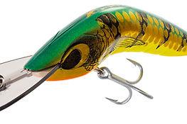 Predatek B80D Boomerang diver fishing lure in Aussie Gold colours