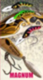 Predatek D120 Downunder magnum Boomerang fishing lure