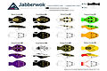 Predatek J110 Jabberwok surface fishing lure colours