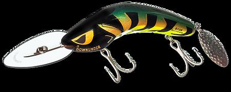 Predatek D120 Downunder Boomerang fishing lure in 'Aussie Gold'