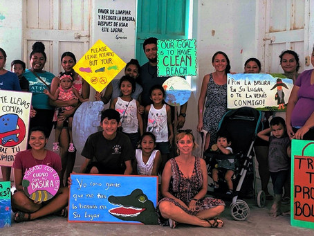 Creative Advocacy to Support Ban on Single-Use Plastics and Styrofoam in Belize