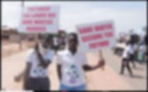 95km walk for protest copy - a rocha Gha