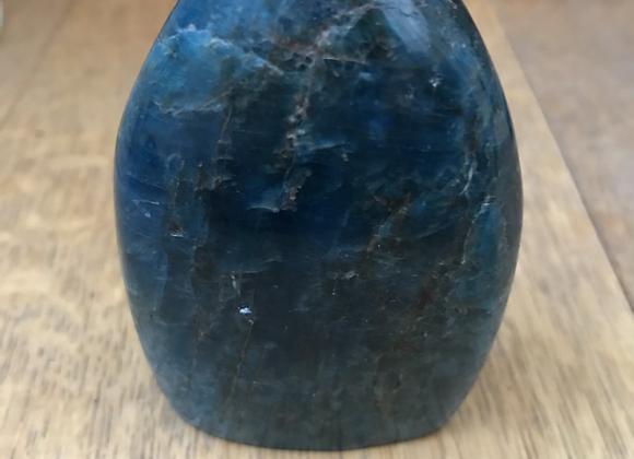 Blue Apatite Polished Freeform