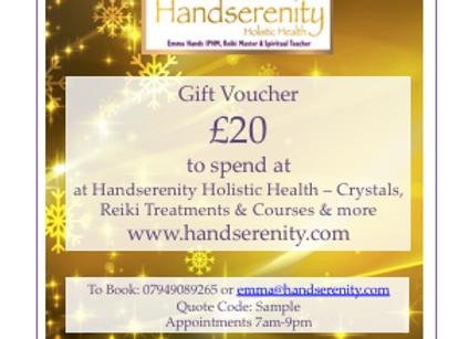 Handserenity £20 Gift Voucher