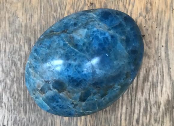 Blue Apatite Crystal - Pebble
