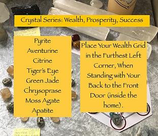 Crystal Series Wealth Prosperity Success