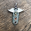 Thumbnail: Winged Chakra Pendant with Green Jade Crystal