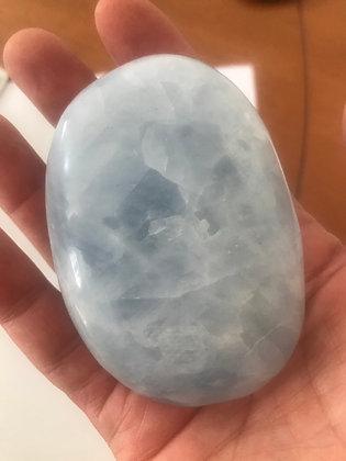 Blue Calcite Palmstone