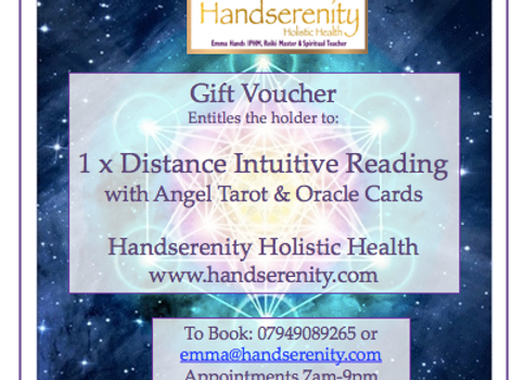 Distance Intuitive Readings Gift Voucher
