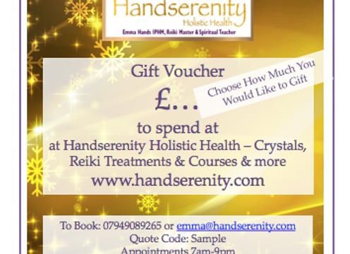 Handserenity Gift Voucher