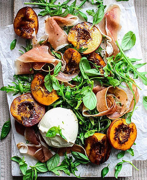 Grilled Peach & Proscuitto Salad.JPG
