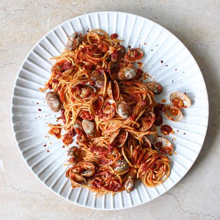 Spaghetti with Chilli Vongole