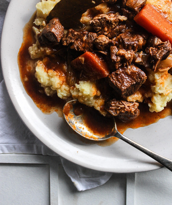 Slow Cooker Beef Stew - Edlyn Foods x The Delightful Cook Sponsored Collaboration