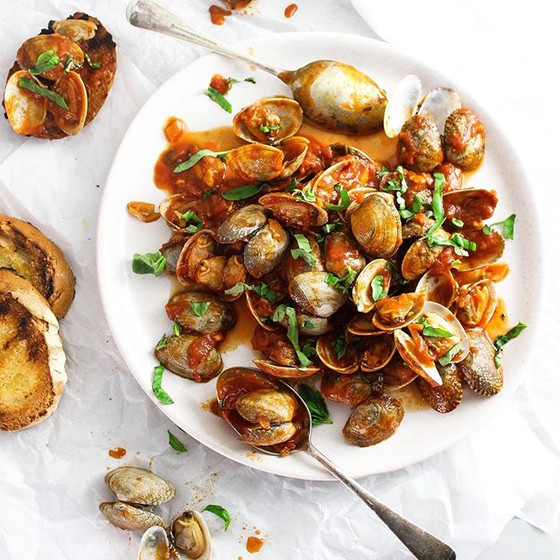 Clams in Chili Sauce