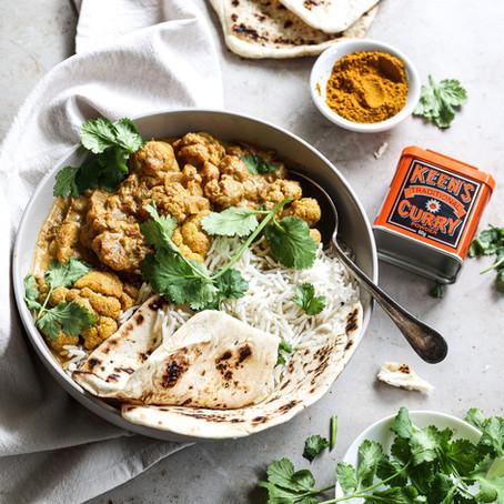 Creamy Cauliflower Curry – Keens Australia