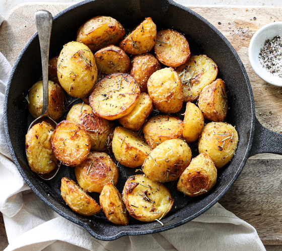 Crispy Buttery Rosemary Potatoes