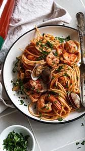 Seafood Spaghetti Marinara - Val Verde