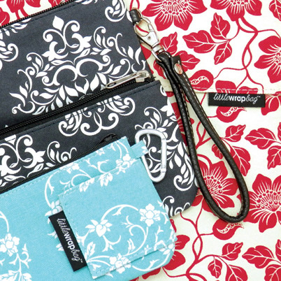 littlewrapbag DUO Purse RRP $24.95 and Mini Multi RRP $39.95  RRP $34.95  Free gift wrapping Free postage and handling  Available direct from littlewrapbag or at hardtofind.com.au - see link below