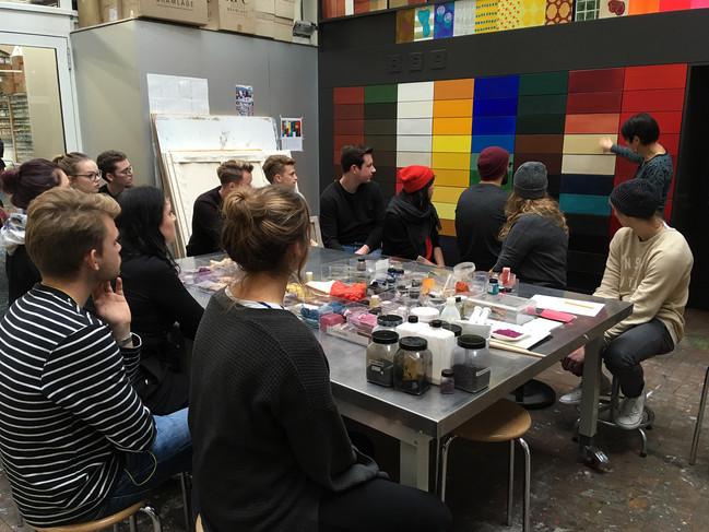 Farbpigmente, ihre Herkunft/Zusammensetzung und ihre Geschichte