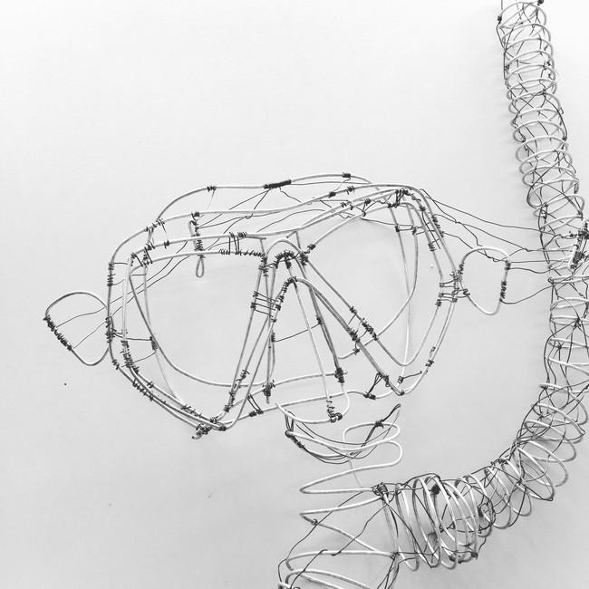 Drahtskulptur