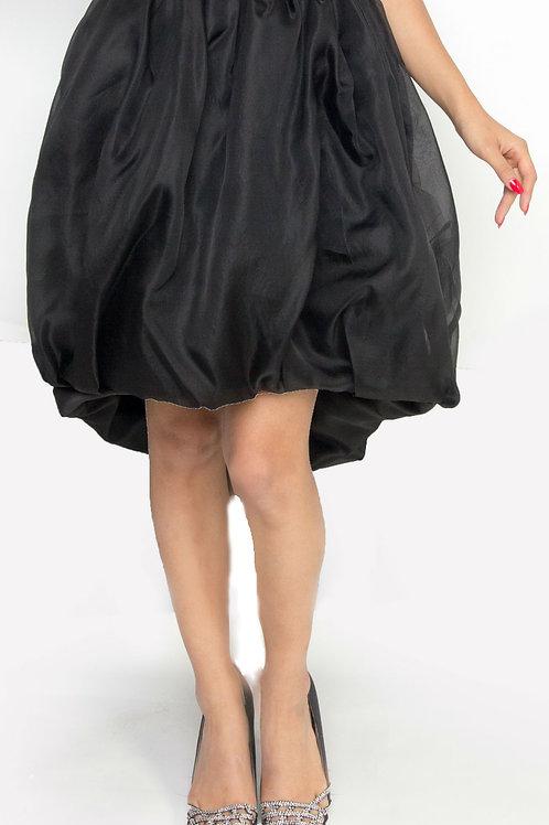 Black Gazar Bubble Skirt