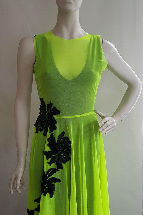 Lime Embellished Dress