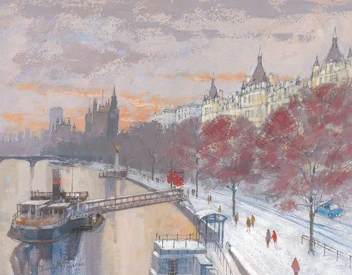 CL30 The Embankment towards Westminster