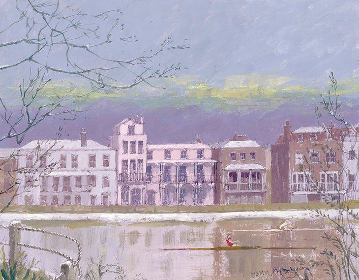 BN4 Barnes Terrace across the River