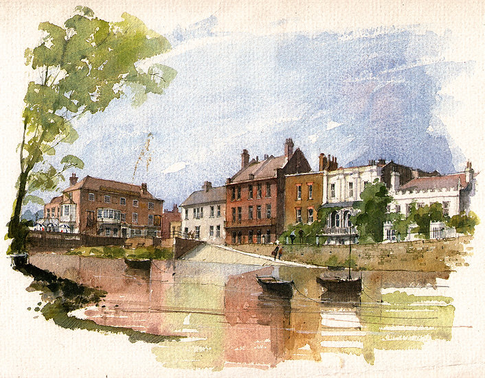 RM12 Old Isleworth from the River