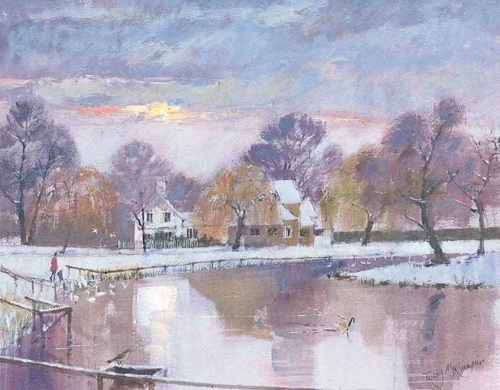 BN5 Barnes Pond Winter