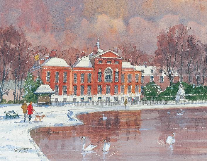 KE10 Kensington Palace and the Round Pond