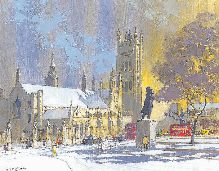 CL19 Parliament Square in Winter