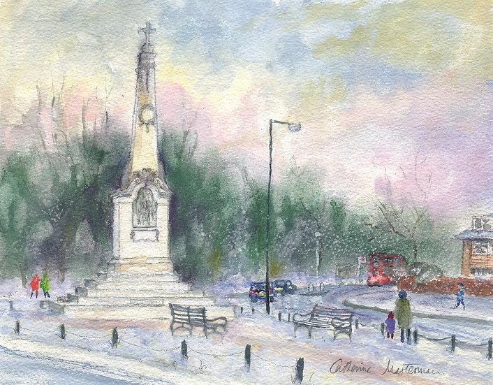 CH18 The War Memorial, Wimbledon Village