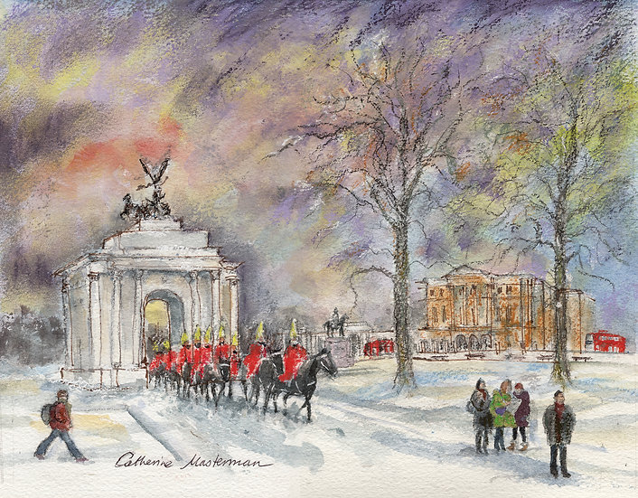 CL41 Horse Guards at Wellington Arch