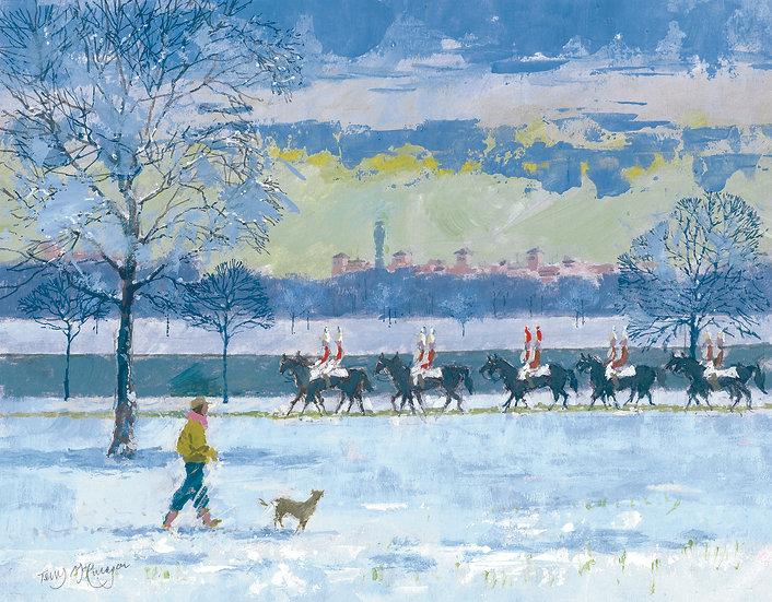 KE2 Horse Guards in Hyde Park