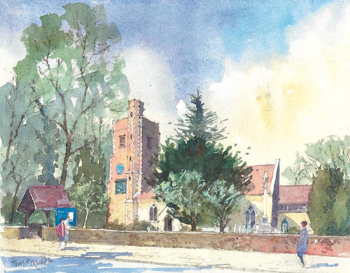 BN1 St Mary's Church, Barnes
