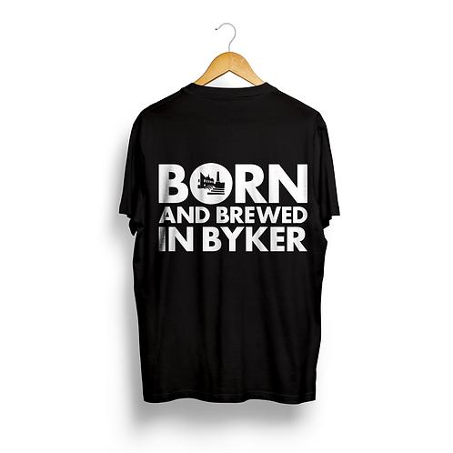 Born & Brewed in Byker Unisex T-Shirt