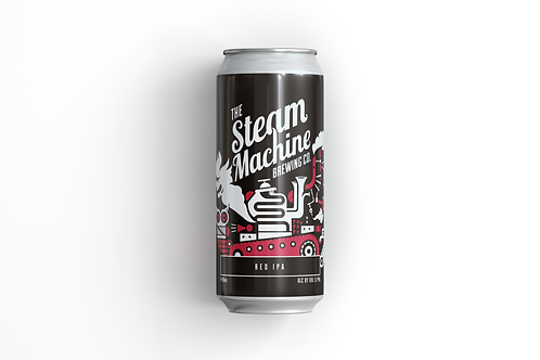 RED IPA - THE STEAM MACHINE (ABV 6.4%)