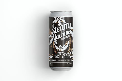 COCONUT CHOCOLATE PORTER - THE STEAM MACHINE (ABV 7.5%)