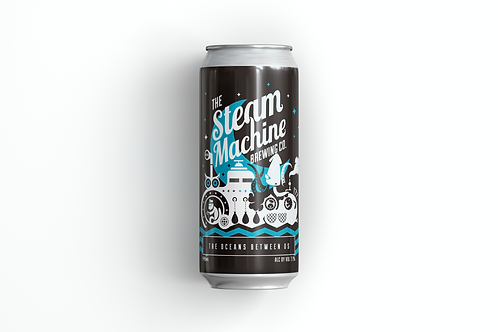THE OCEANS BETWEEN US - THE STEAM MACHINE (ABV 7.1%)