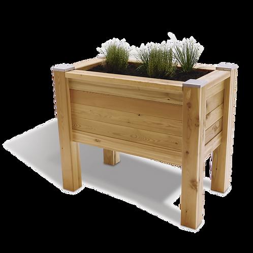 Holz Hochbeet aus Lärchenholz der Firma Timberra aus Österreich - EasyDeterra