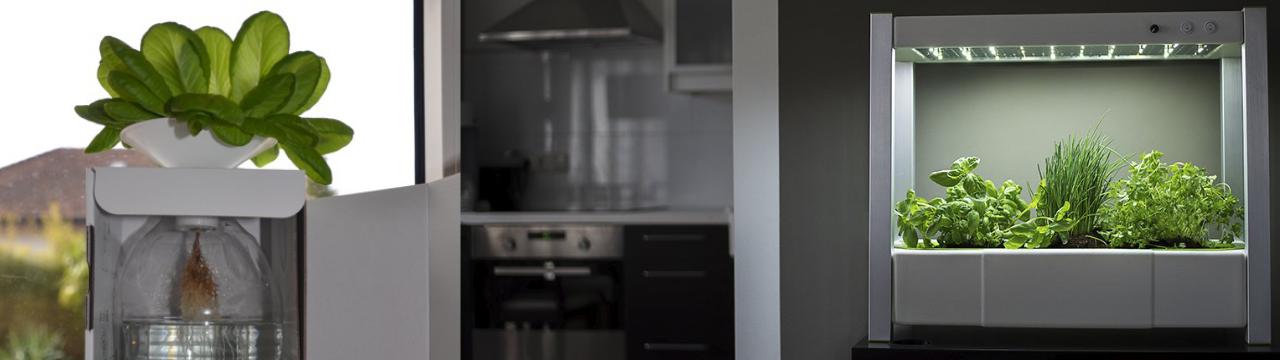 Home Farming Solutions - Indoor-Garten mit BottleCrop & Gewächshaus GreenUnit