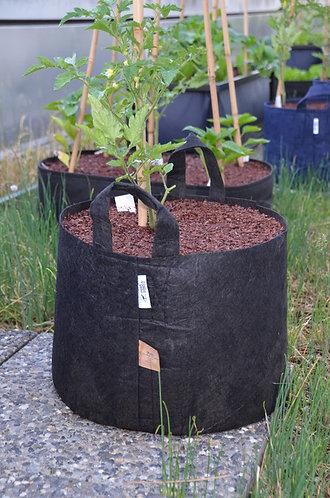 Root Pouch - Pflanzentasche mit Tragegriff - 39 Liter - schwarz