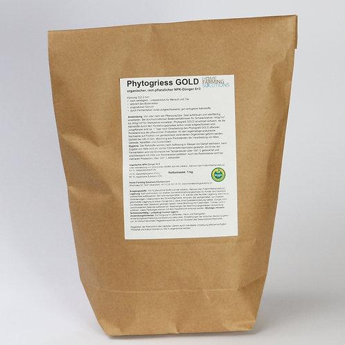 Phytogriess GOLD - organischer, rein pflanzlicher Dünger