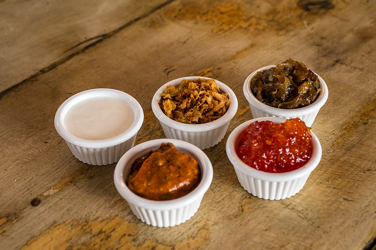 The Breakhouse Cafe sauces